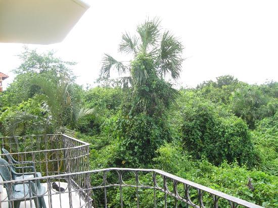 Occidental Cozumel: View from balcony