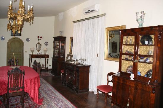 Torre dei Federico: intérieur de la maison