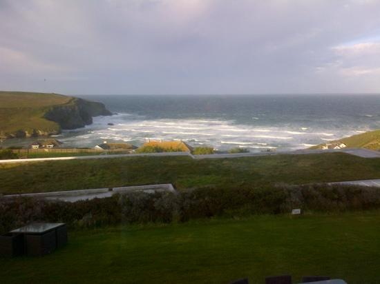 Bedruthan Hotel & Spa: view from Bedruthan