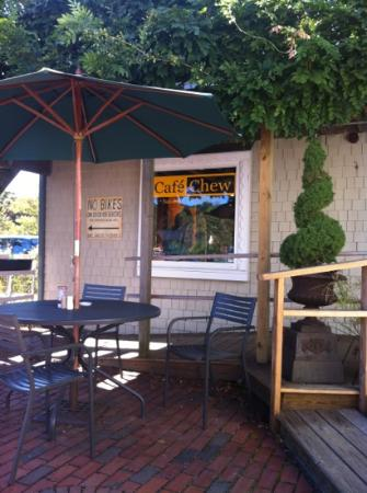 With Outside Patio Picture Of Cafe Chew Sandwich Tripadvisor
