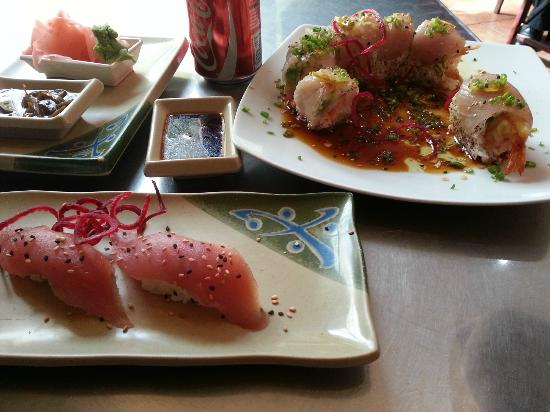 Koi sushi cabo san lucas walmart plz restaurant for Koi sushi aix