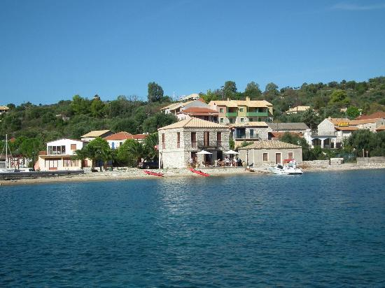 Kastos Island, Grecia: Traverso Bar, The Harbour, Kastos