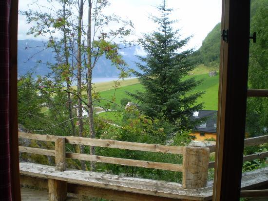 Brekke Cabins: the view