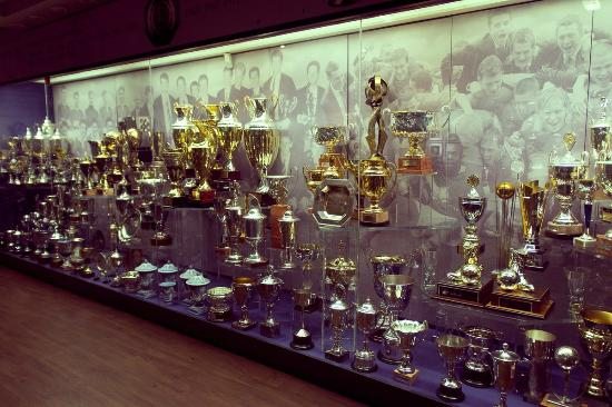 Old Trafford: A small part of the trophies...