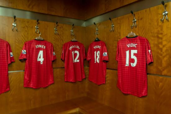 Old Trafford Manchester United Dressing Room