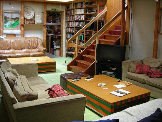 Culdees Bunkhouse: Common living room