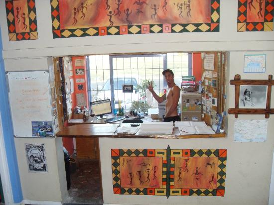 Hermanus Backpackers: Reception