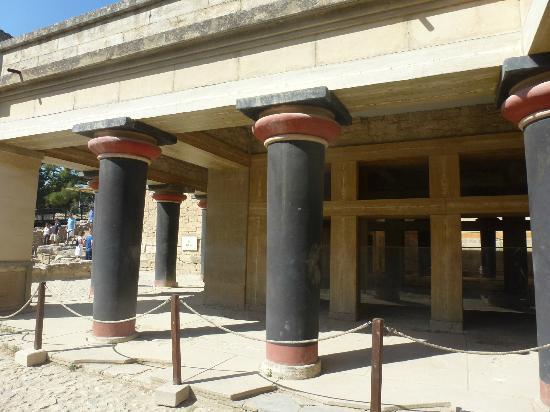 El palacio de Cnosos: Kings Chamber