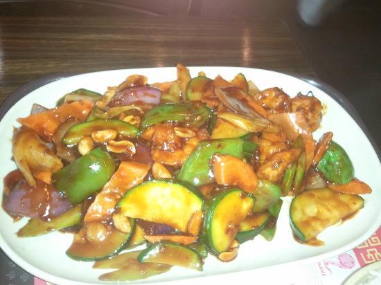 Hunan Cafe: Kung Pao Shrimp (dinner portion)