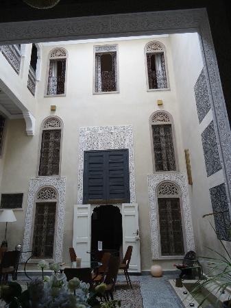 Riad Anata: binnenplaats