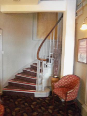 Foyer and Staircase Ardencaple Hotel