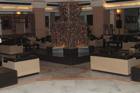 Hotel Yamuna View : the reception