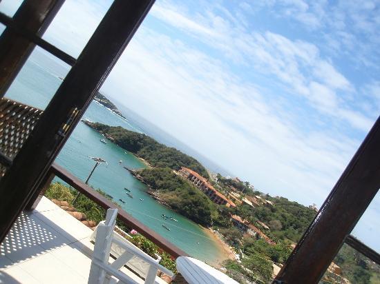 Baía do João Pousada: Vista de la Bahia Joao Fernandes