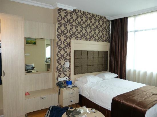 Elite Hotel Kucukyali: nostra camera lato mare