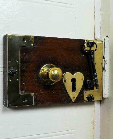 Sherwood Park House: Original Front Door Lock