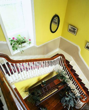 Sherwood Park House: View down the stairs