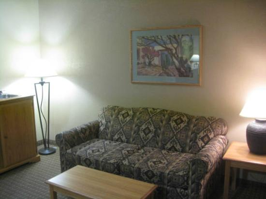 Best Western Turquoise Inn & Suites : Living Room