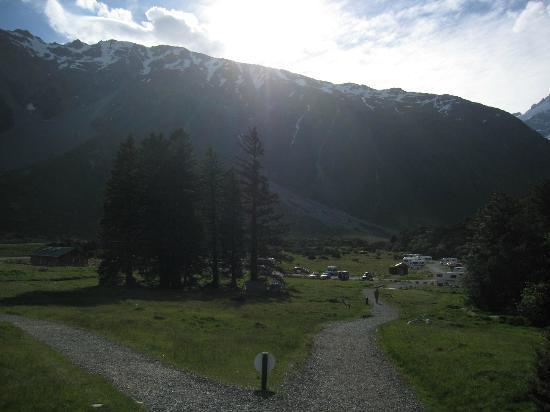 DOC White Horse Hill campsite: Campingplatz
