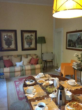 B&B Monte Oliveto: lovely breakfasts