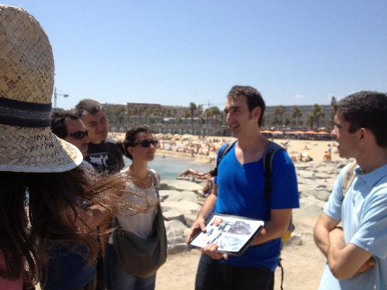 Barcelona Architecture Walks: Our first BAW 4. Barcelona & The Sea