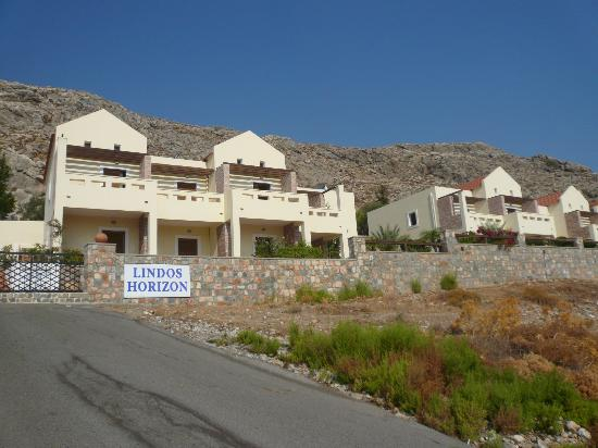 Lindos Horizon: Two out of for blocks of rooms