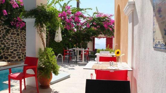 Aigialos Hotel: Hotel restaurant