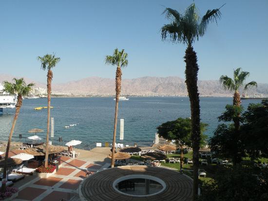 U Suites Eilat: Вид с балкона