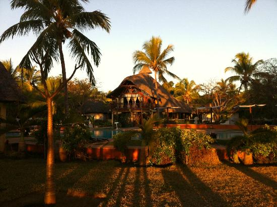 VOI Amarina resort: Struttura centrale resort