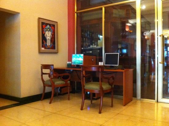 Hotel Boutique Reino Del Plata: Computadores disponíveis