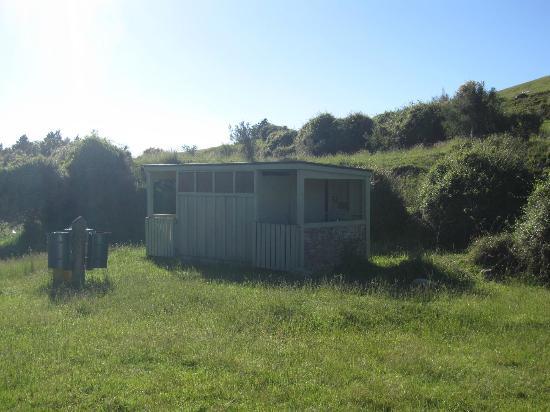DOC Waihi Gorge campsite: Toiletten