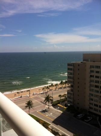 W Fort Lauderdale: view from balcony