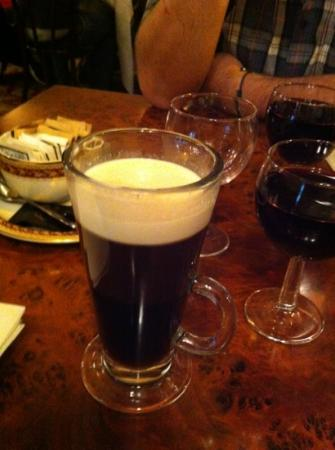 The Wee Curry Shop: Irish Coffee on the house! Amazing!