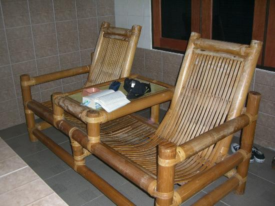 Rindu Alam Hotel: Terrasse