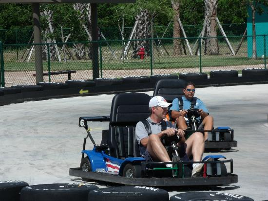Zoomers Amusement Park: Race your friends on our two go-kart tracks!