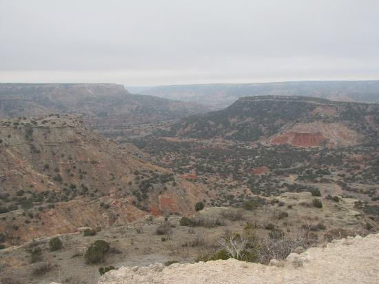 Palo Duro Canyon State Park: General view of the Palo Duro Canyon