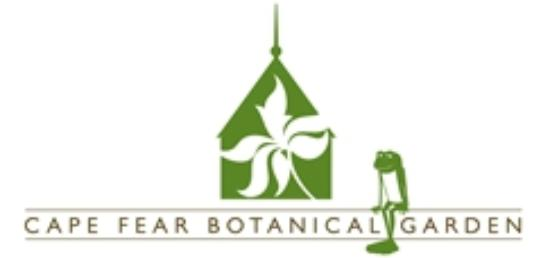 Cape Fear Botanical Garden U0026 Logo Frog