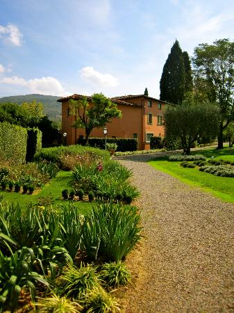 Villa La Massa: View from the garden