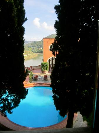 Villa La Massa: View from our room