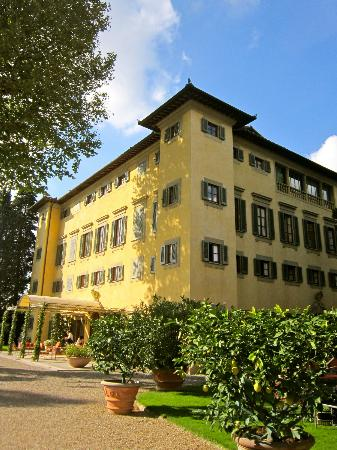 Villa La Massa: The hotel main building - Villa Noble