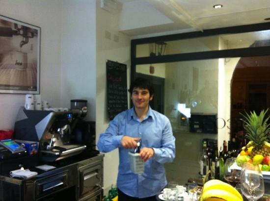 Zaporea Smart Gourmet : Luca il proprietario