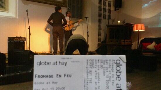 The Globe at Hay: fromage en fau