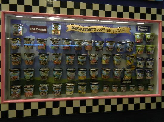 Ben & Jerry's : One of each please