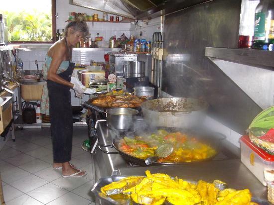 La Baraquette: VISITE DANS LES CUISINES