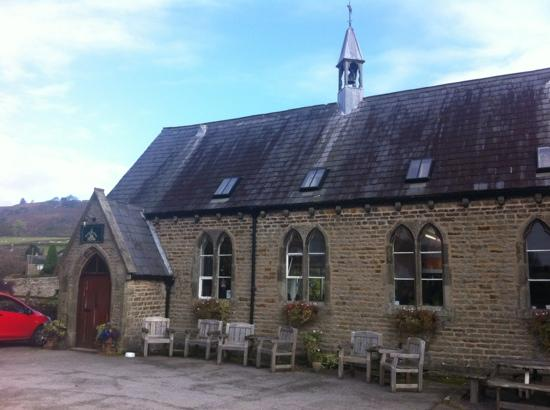 The Old School at Hebden B&B: view of tea room