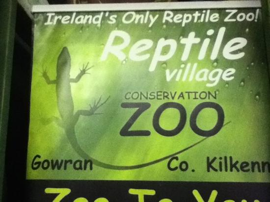 The National Reptile Zoo : reptile village poster