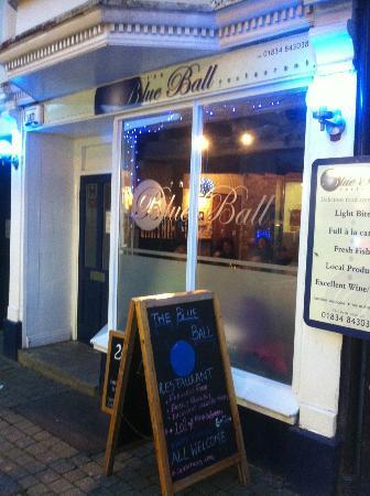 Blue Ball Restaurant : The Blue Ball