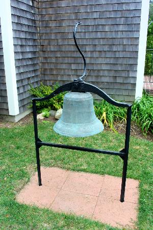 Atwood House & Museum: Meneely Bell manufactured in my home town