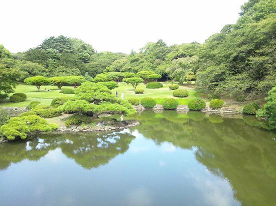 Shinjuku Gyoen National Garden : 日本庭園
