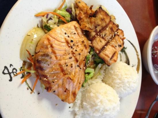 Sushi Kata Japanese Restaurant: Salmon Shio Yaki (only $7.95)