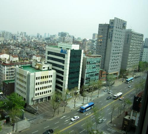 Novotel Seoul Ambassador Gangnam: View from our room